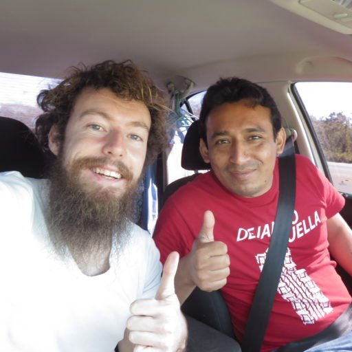 My first hitchhiking day in Mexico : From Cancun to Chichen Itza