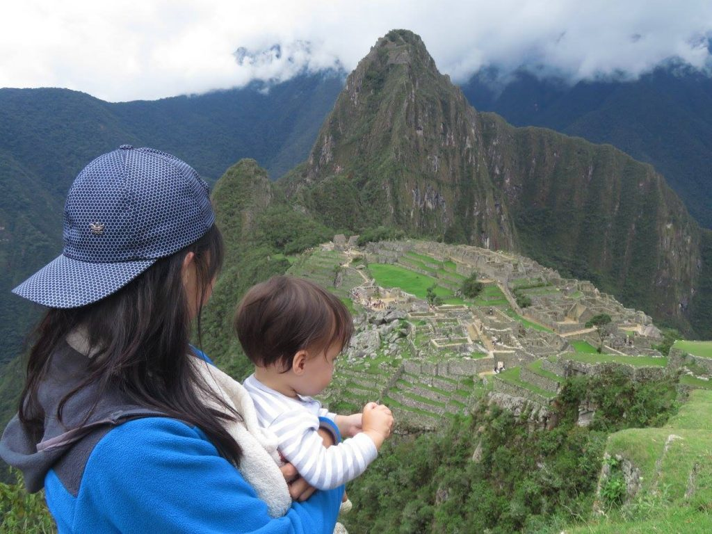 Machu Picchu : A birthday treat for a one-year-old baby
