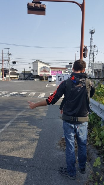 Budget Travel in Japan? Hitchhiking in Japan is the solution!