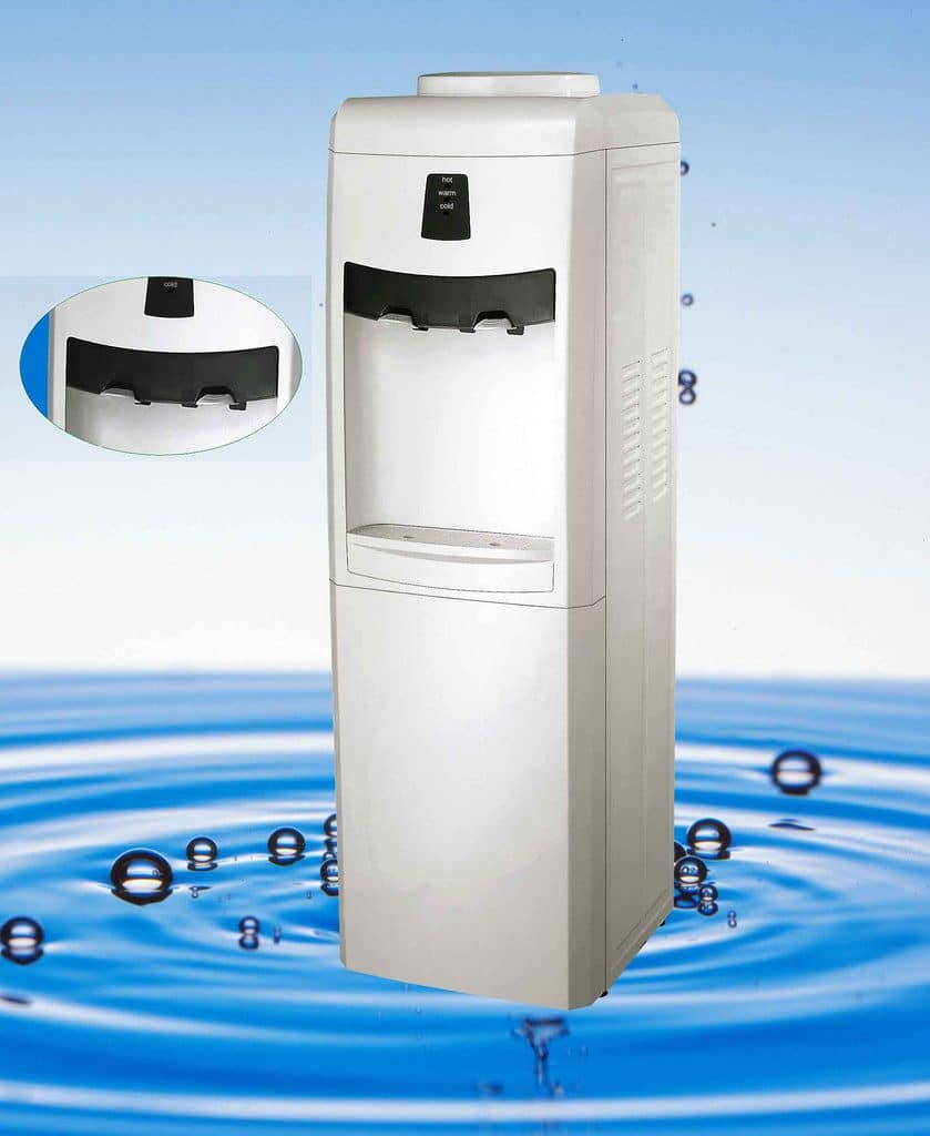 A water dispenser