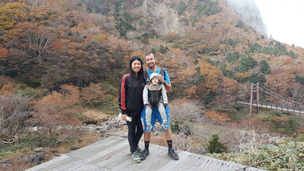 Our family hiking