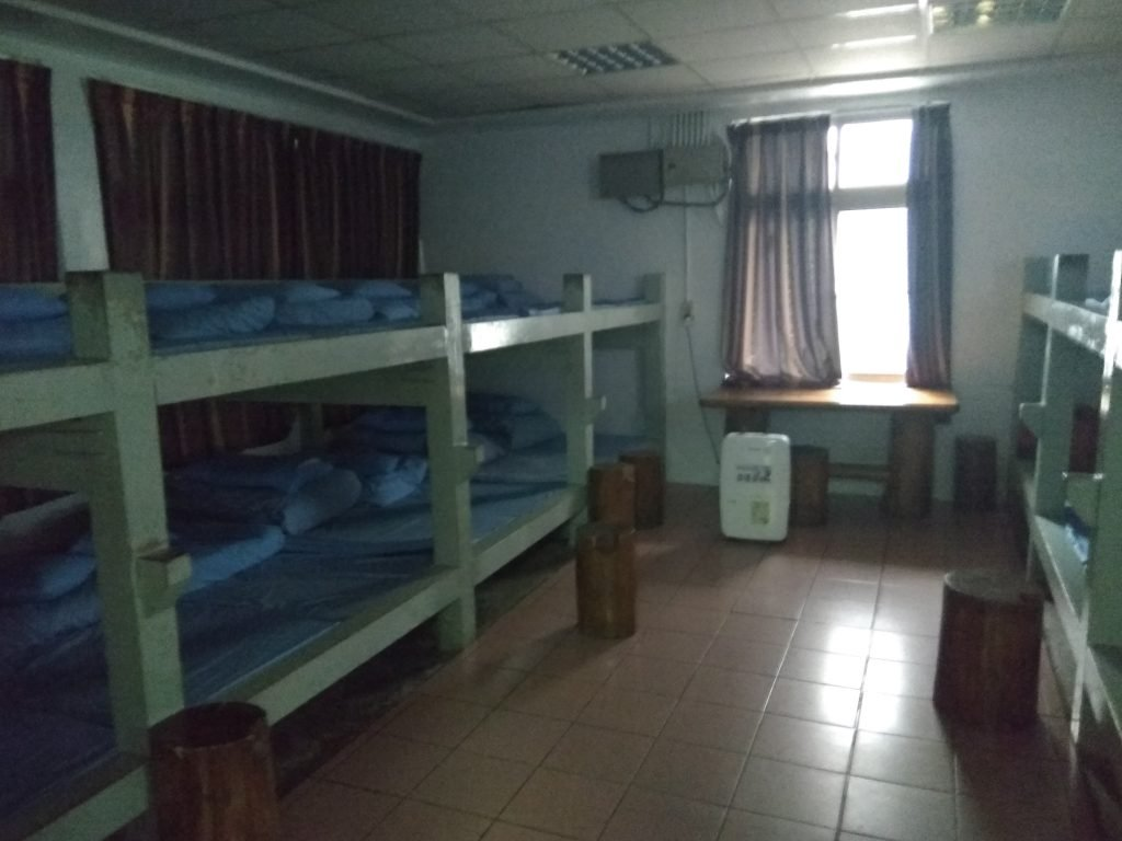 A picture of the dorm in the Dongpu Villa Hostel