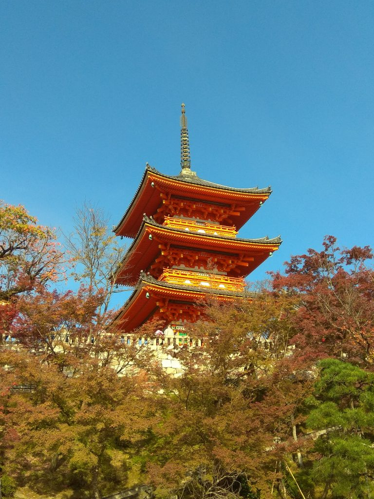 A Pagoda in Japan