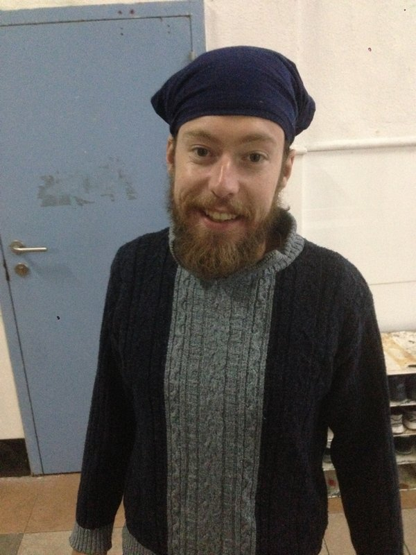 Maxime in a Sikh Temple