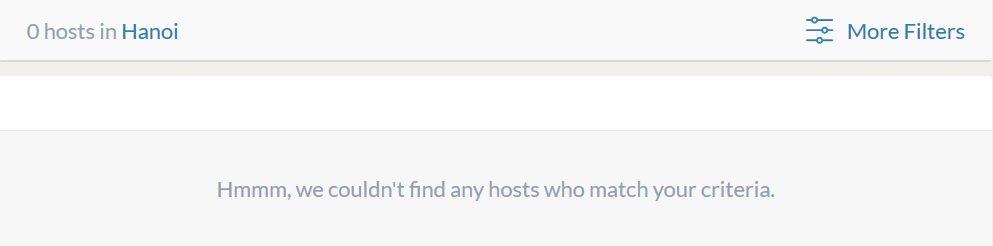 No host