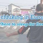 Hitchhiking in Europe : Where to find a free place to sleep ?