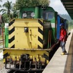 Train in Borneo : A journey from Beaufort to Tenom