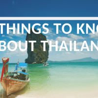 10 Things to Know before Traveling to Thailand on a budget