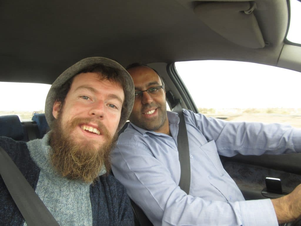 Hitchhiking in the Middle East
