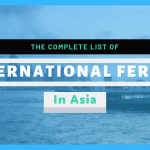 List of every ferry in Asia: 20 countries to get to by boat!