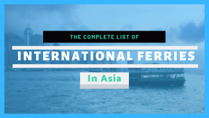 International Ferries in Asia