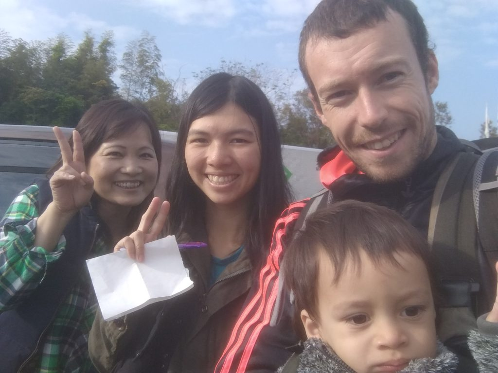 Hitchhiking in Japan