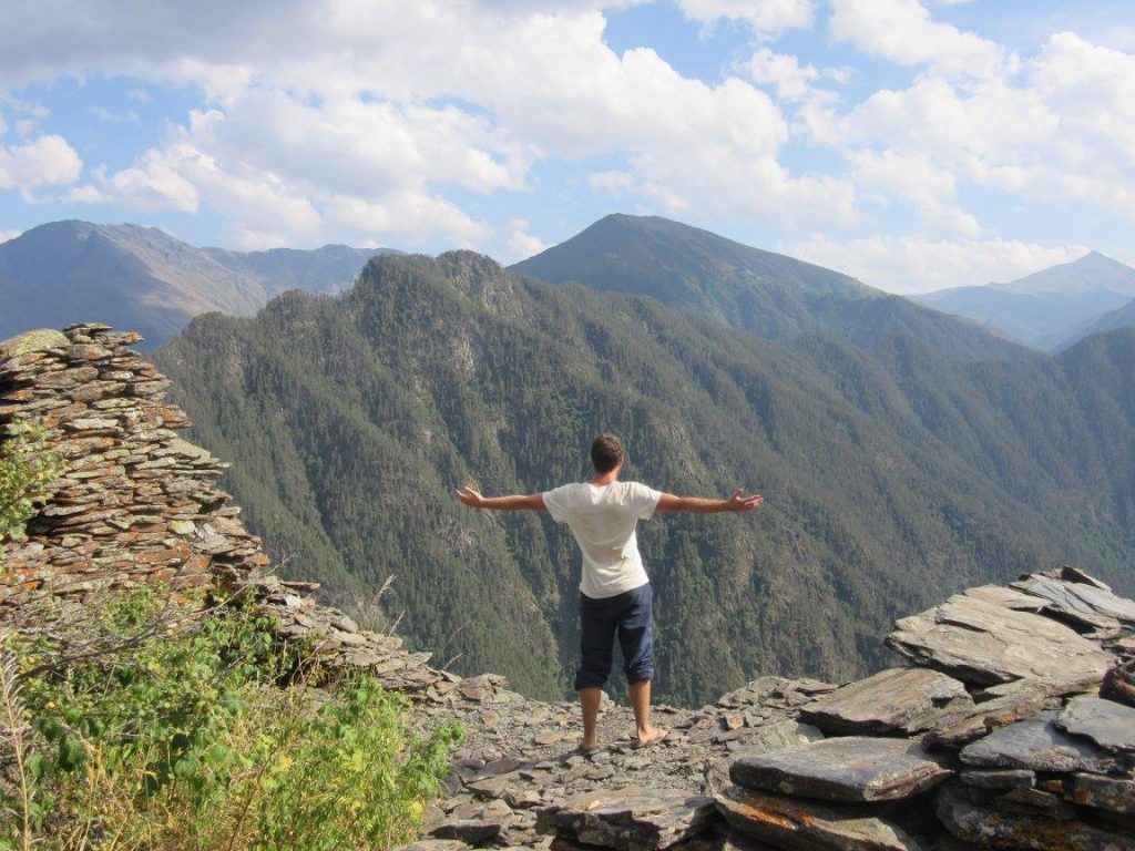 A picture of me in the Tusheti National Park