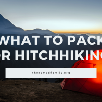 What to pack for hitchhiking ?