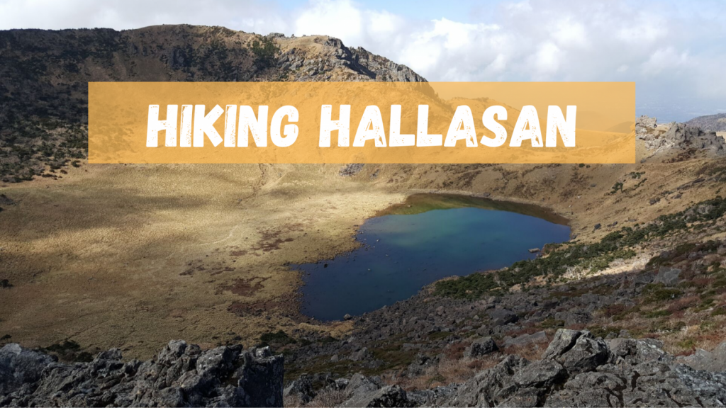 Hiking Hallasan : The highest mountain in South Korea (1.947m)