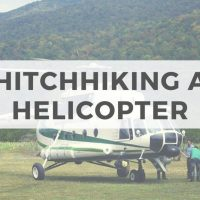 Hitchhiking a helicopter : A true travel story