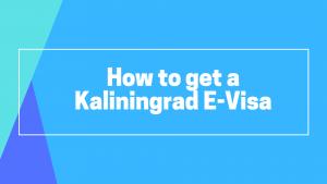 Kaliningrad E-Visa article