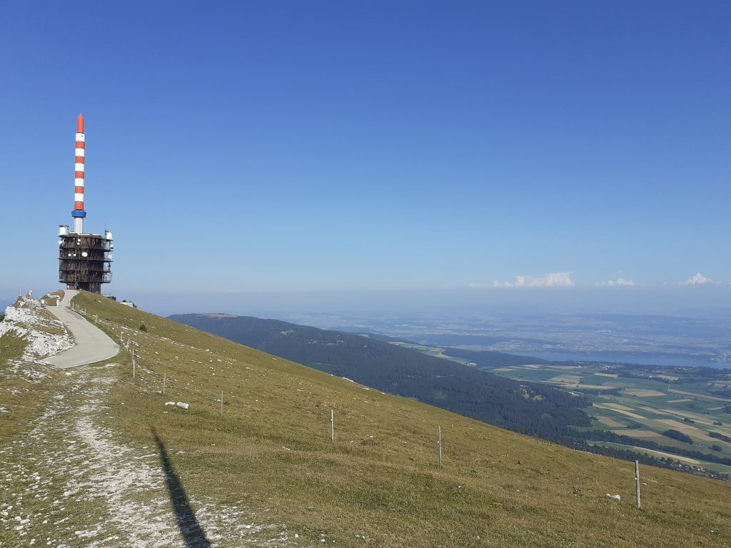 Hiking the Chasseral