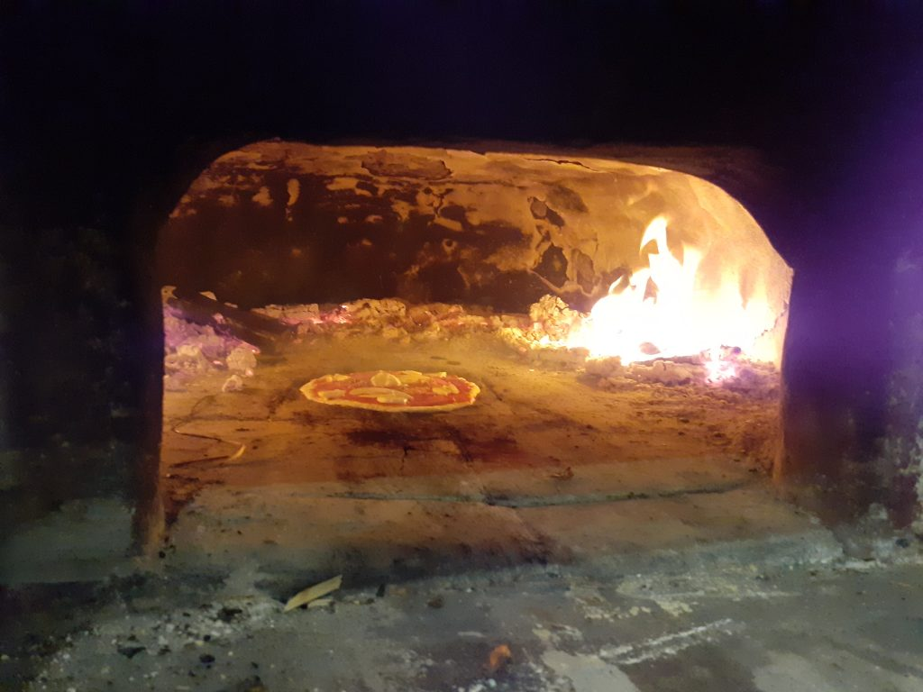 Pizza making Helpx experience