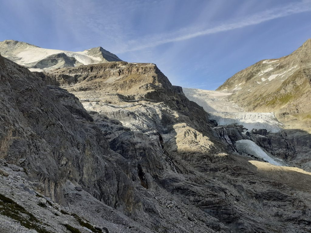 Otherworldly landscape while hiking in Valais