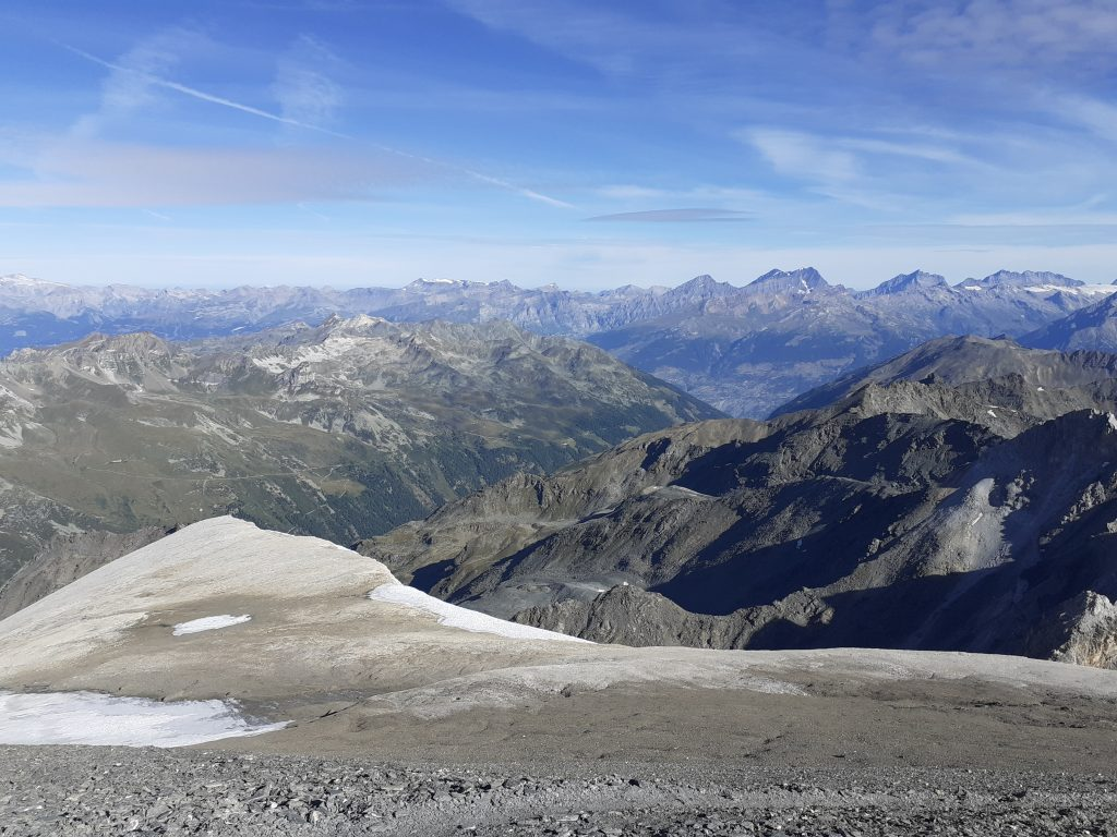 On top of the Barrhorn