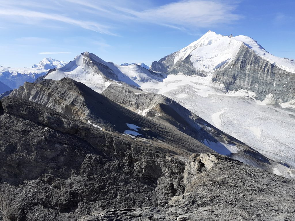 View of the Weisshorn - Bishorn