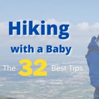 Hiking with a baby: The 32 best tips after years of family hikes
