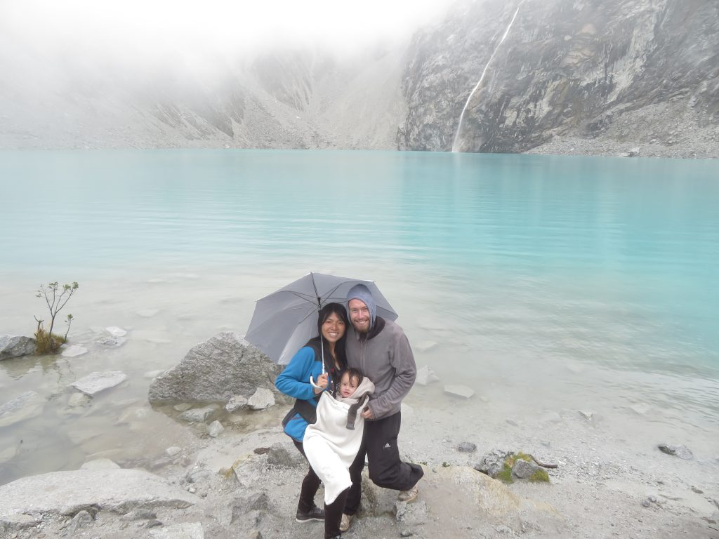 Laguna 69 with a baby