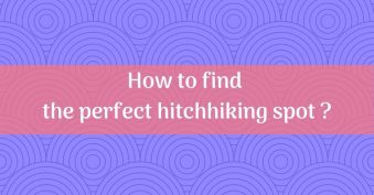 Find an Hitchhiking spot
