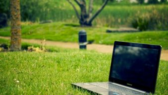 Computer in a field
